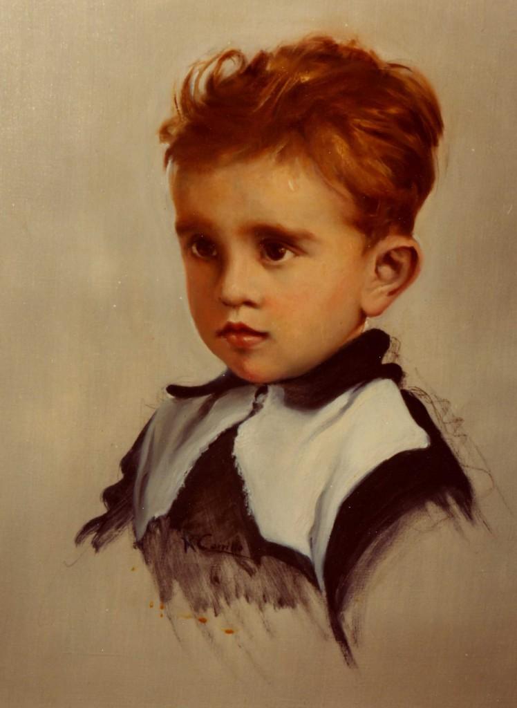 Manolo Sabater niño