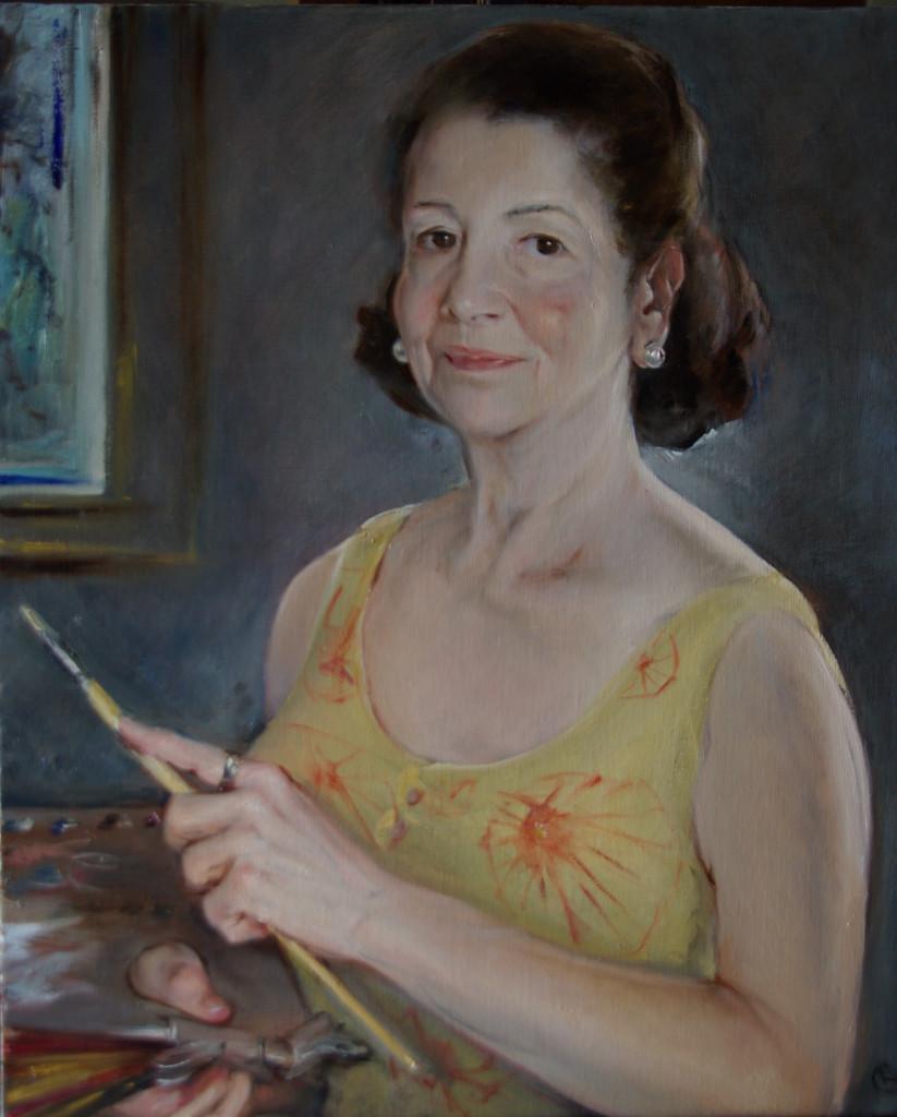 Rosario Carrillo autorretrato