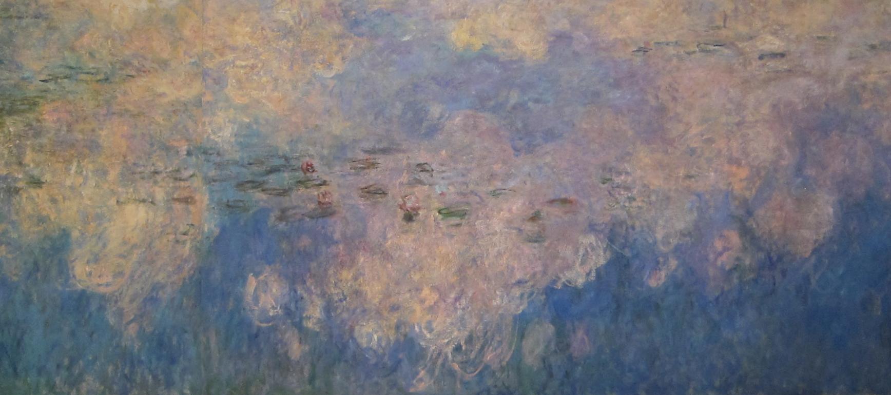 Monet y su relación con la abstracción americana