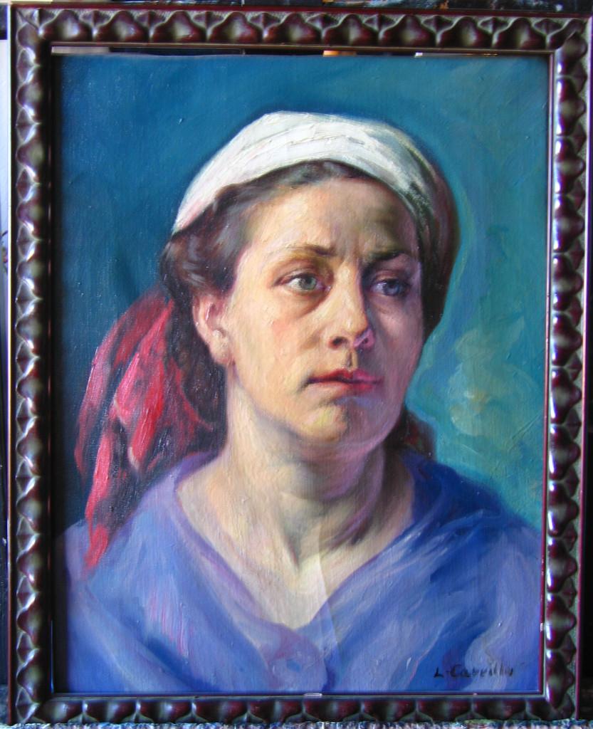 Marina con pañuelo