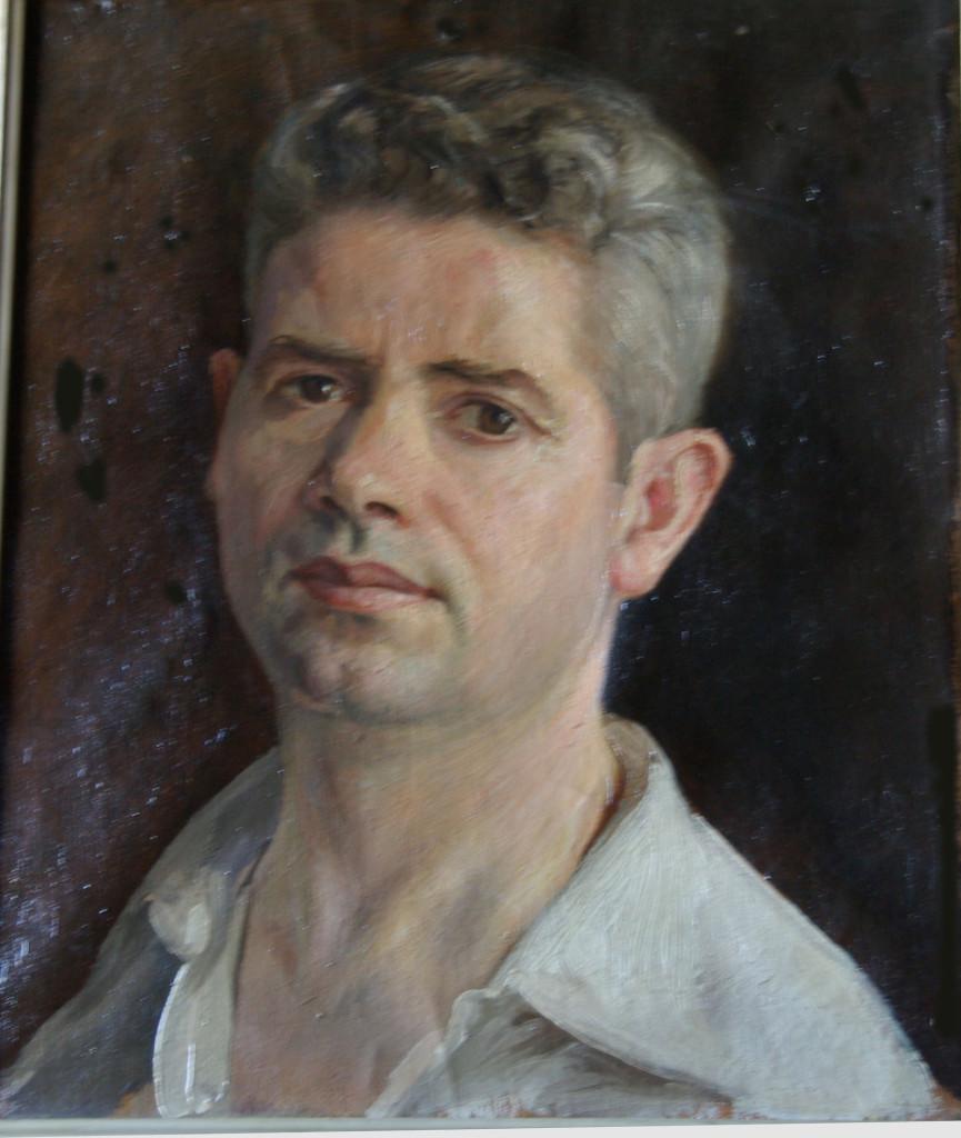 Luis Carrillo autorretrato