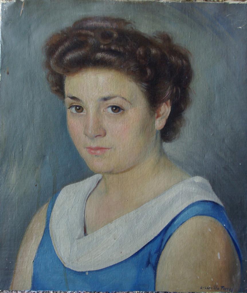 Retrato de Pepita Vivo
