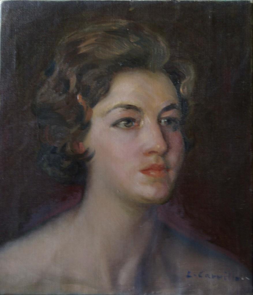 Retrato de Mari Julia