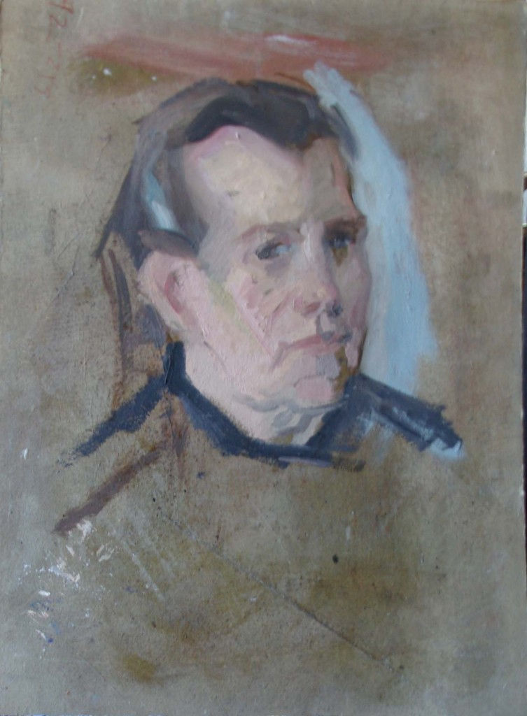 Retrato boceto de Domi