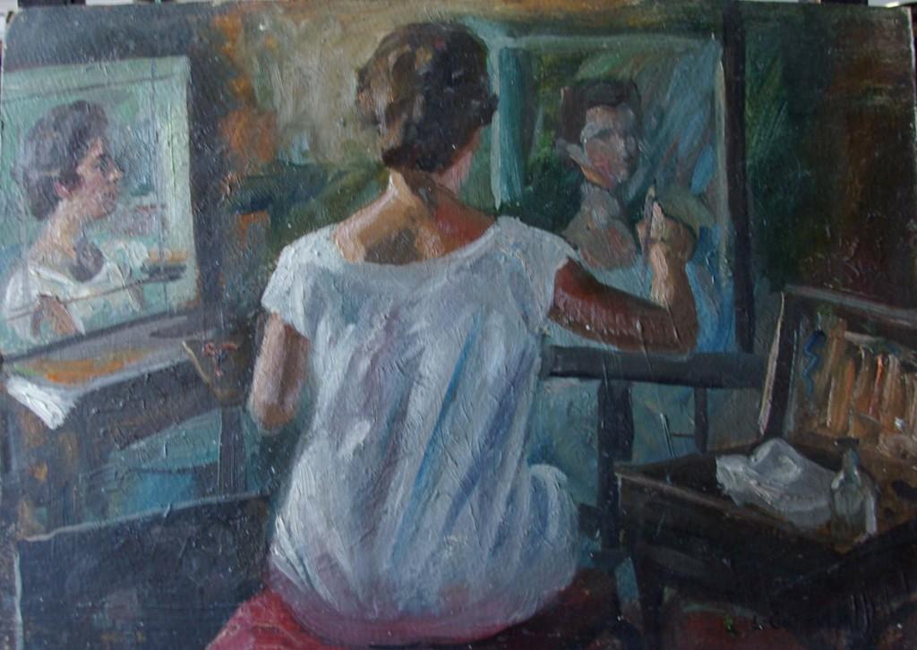 Rosario pintando