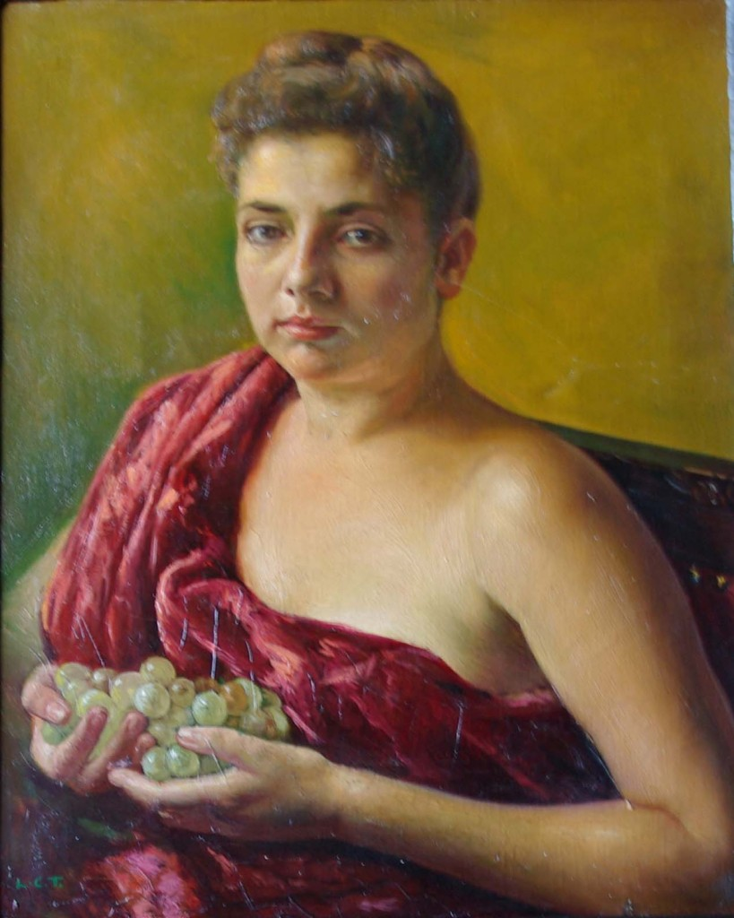Rosario con uvas